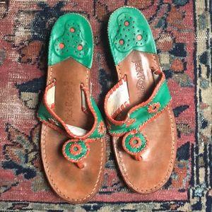 Jack Rogers two-tone Jacks sandals